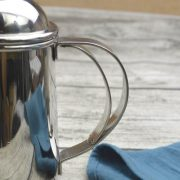 650ml Stainless Steel Fine Mouth Coffee Hand Pot (Silver)_3